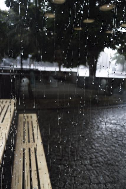 escape from rain