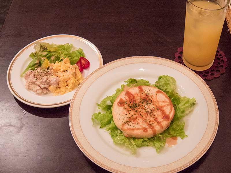 2014年8月1日の昼ご飯