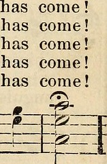 """Image from page 170 of """"Songs of love and praise, no. 4 : for use in meetings for Christian worship or work"""" (1897)"""