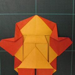 การพับกระดาษเป็นรูปปลาคาร์ฟ (Origami Koi Fish) 023