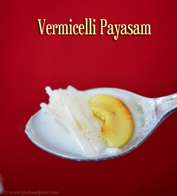 Vermicelli Payasam