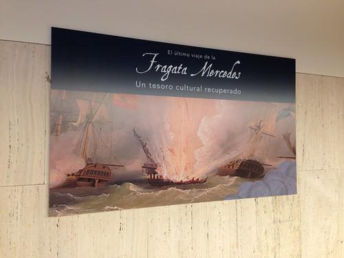 MAN, Exposición Fragata Mercedes. Madrid
