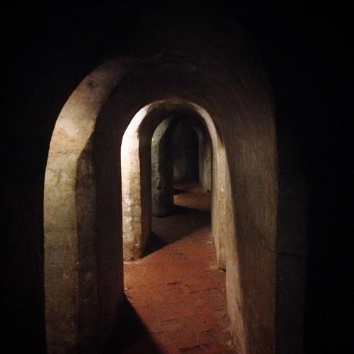 tunnels of Castillo San Felipe de Barajas