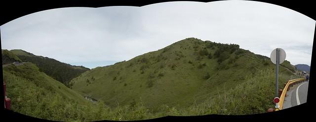 合歡山北(西)峰登山口風景