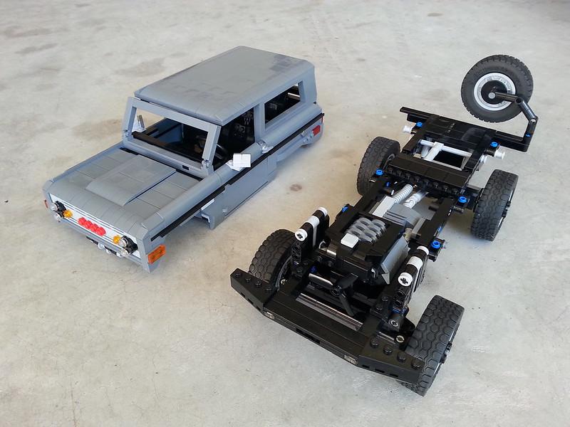 Mt Icon Bronco Lego Technic Mindstorms Model Team
