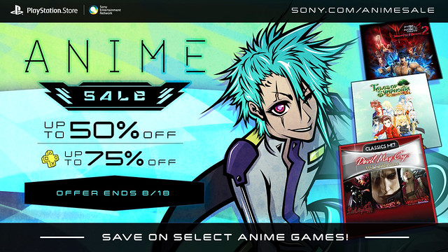 PlayStation Store Anime Sale