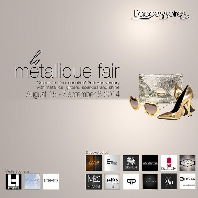 La Metallique Fair by L'accessoires