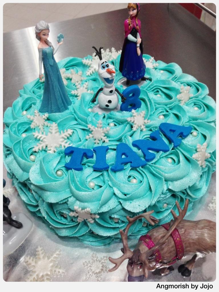 Disney Frozen Birthday Cake Tiana Disney Disneyfrozen Flickr