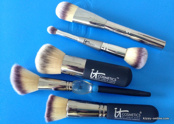 Makeup face brushes by it Cosmetics QVC