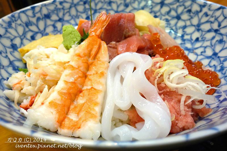 36日本東京築地市場つきじ かんの菅野商店生魚片丼飯
