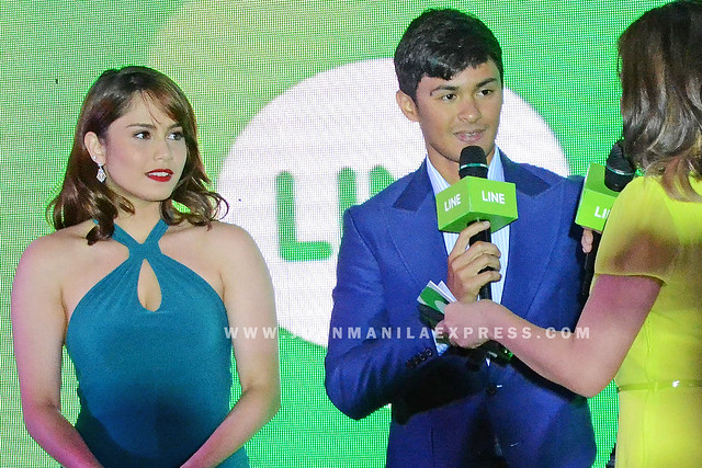 JESSY MENDIOLA AND MATTEO GUIDICELLI.