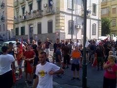 Manifestazione 14 Agosto - Renzi a Napoli