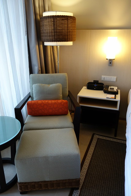 Armchair & Ottoman in the Deluxe Room @ Courtyard by Marriott Bali Seminyak - Aug 2014
