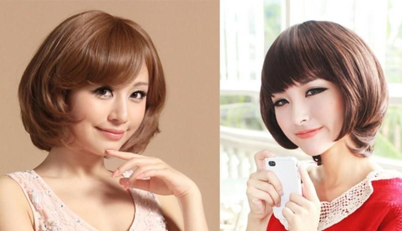 Các kiểu tóc ngắn đẹp! Tóc ngắn ép, uốn xoăn Hàn Quốc 14