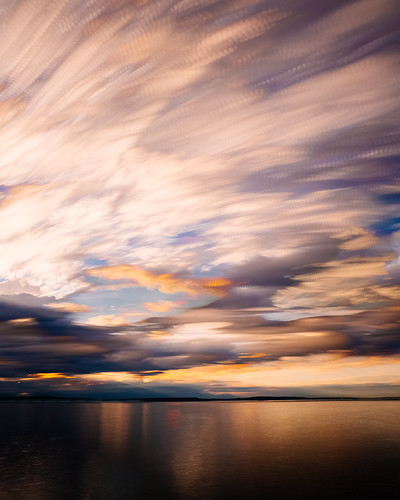 seattle longexposure sunset motion reflection water clouds washington cloudy pacificnorthwest canonef2470mmf28lusm bwnd1000x canoneos5dmarkiii timestack johnwestrock