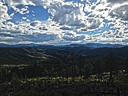 The Mountains Of Teller County Colorado