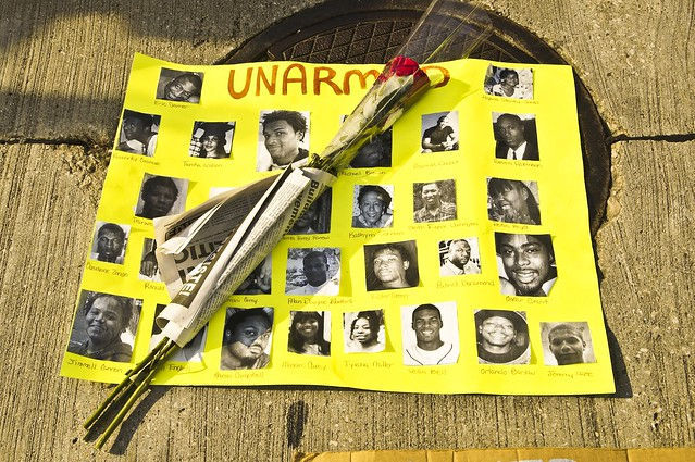 Poster of Unarmed Yet Killed Victims