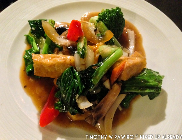 Bandung - Padma Hotel - The Restaurant - Kampung Nelayan - Wok Station - The mix vegetables