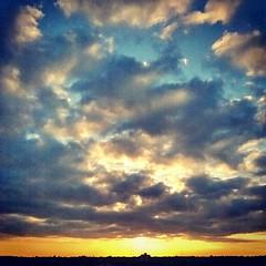 #Sunset + #clouds