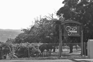 Trefethen Family Vineyards - Sign