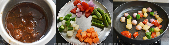 How to make kerala sambar - Step3