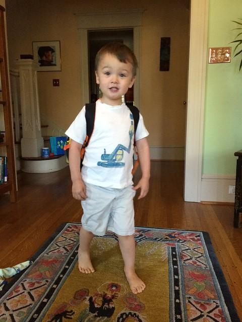 Milo is a preschooler!