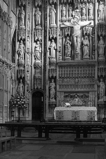 High Altar Screen, St Albans Cathedral