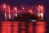 Fireworks, St Michael's Mount