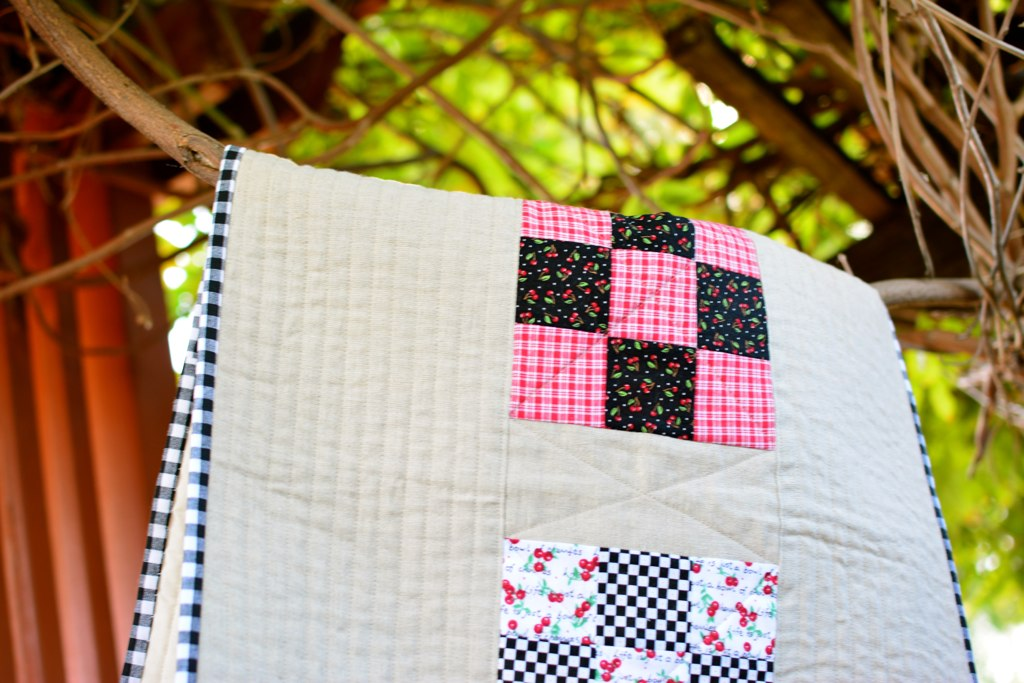 Nine Patch Table Runner