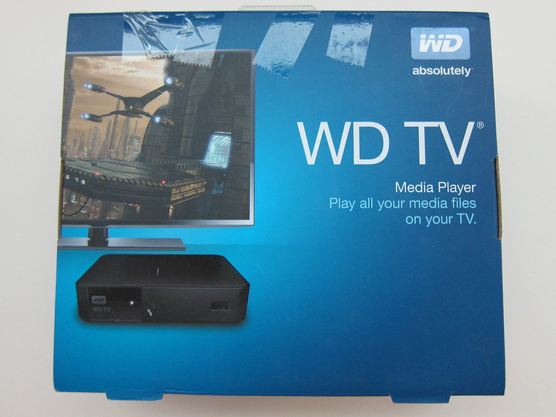WD TV - Box Front