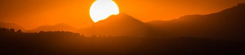 orange sun sunrise lesotho maseru whitemischief