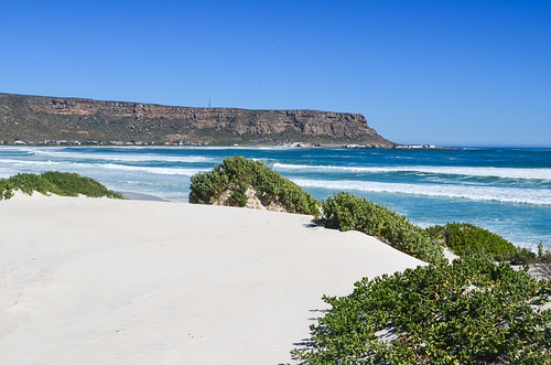 White sand dunes of Elands Bay, South Africa