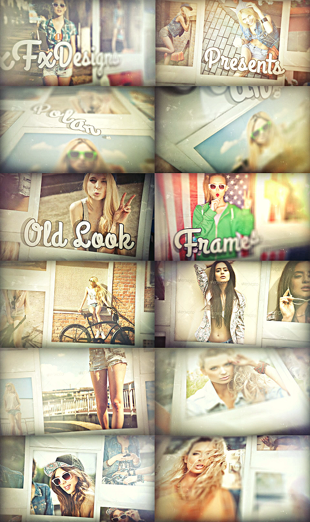 After effects Template xFxDesigns  Vintage Slideshow