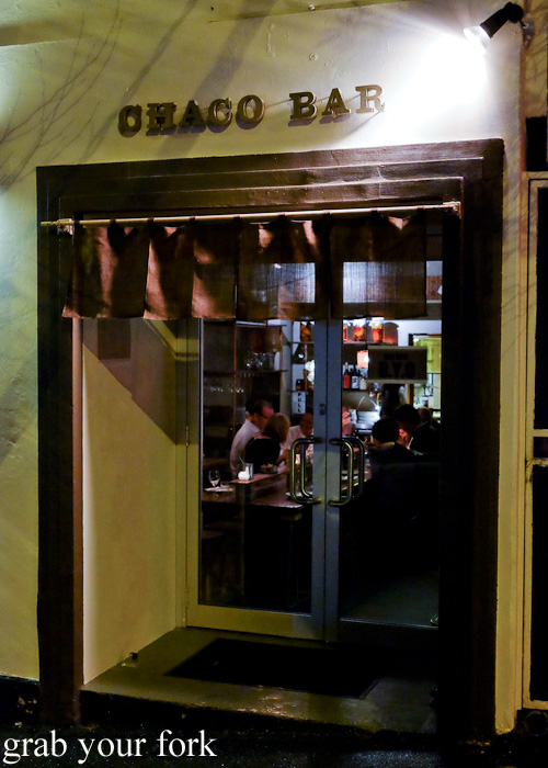 Entrance to Chaco Bar, Darlinghurst