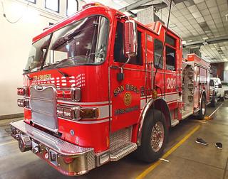 San Diego FD -  Engine 201