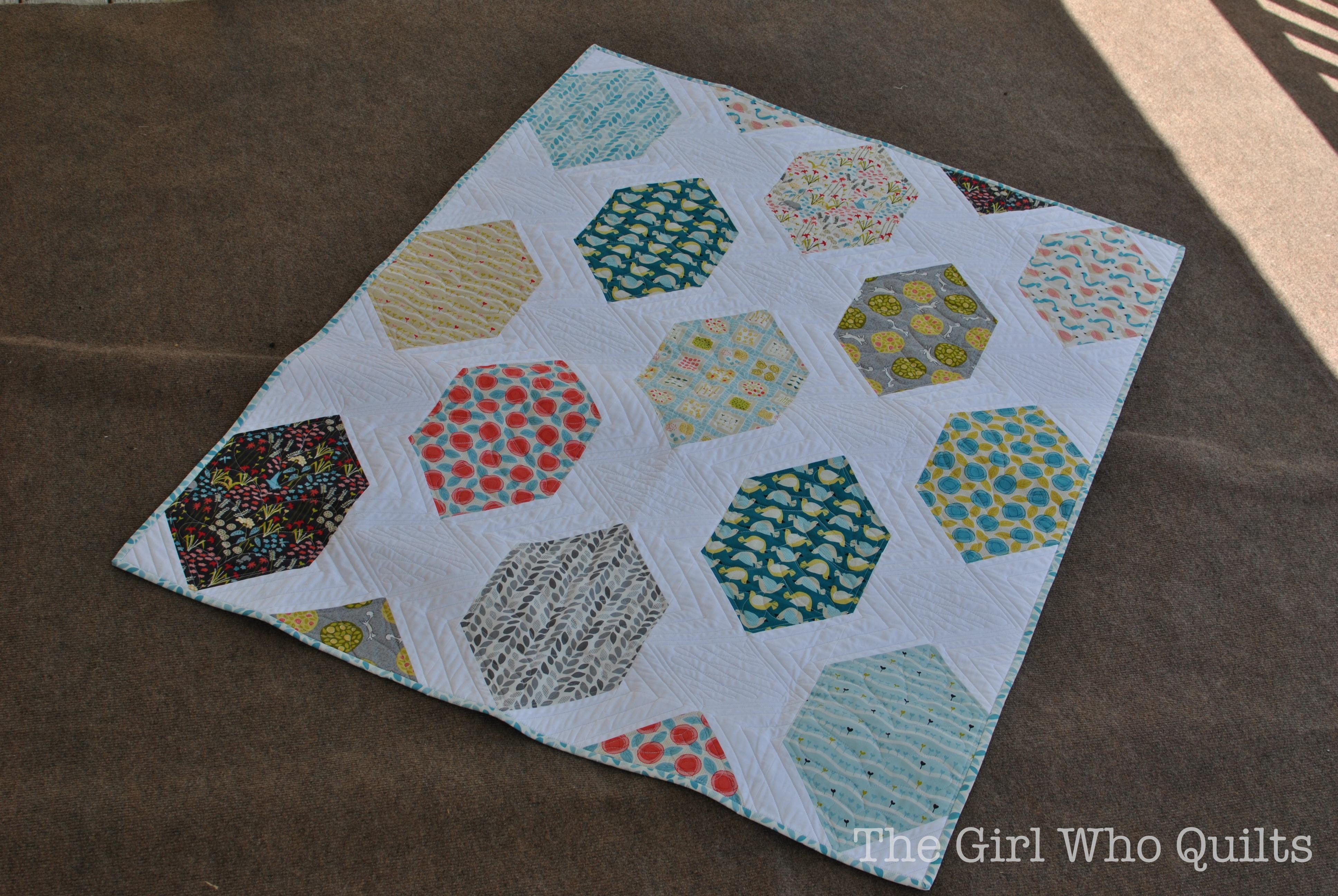 Backyard Garden Quilt for Cloud 9