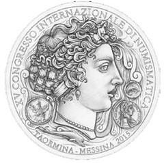 XVth International Numismatic Congress logo
