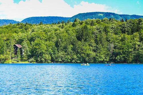 Bohinj Lake Slovenia