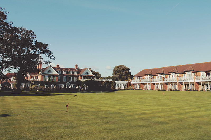 Chewton Glen green