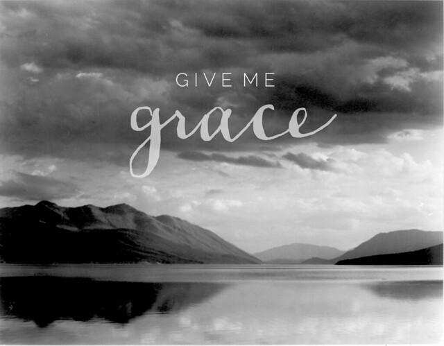 Ansel Adams | give me grace