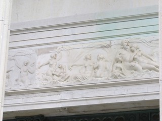 Marble House frieze