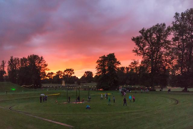 Sky, evening one.