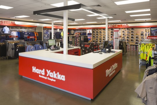Hard Yakka Workwear Centre stores are part of the acquisition by Wesfarmers