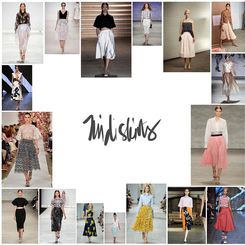 NYFW midi skirts