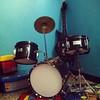 Un rincón de la habitación de Guille #Rock \m/