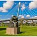 Mimram Brücke - Verbindung Deutsche und Franzosen