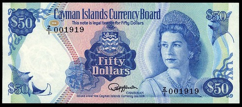 Cayman Islands $50 replacement note