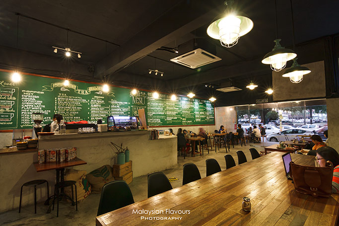 Pickle and Fig cafe interior design