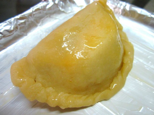 Curry puff. pre-baked