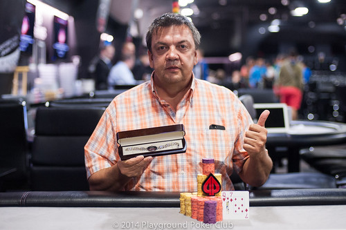 Event 8 Champion: Alain Corriveau